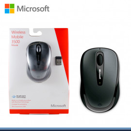 MOUSE MICROSOFT MOBILE 3500 GRIS WIRELESS