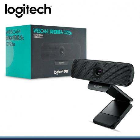 WEB CAM LOGITECH B2B C925E BLACK , FULL HD (PN:960-001075)