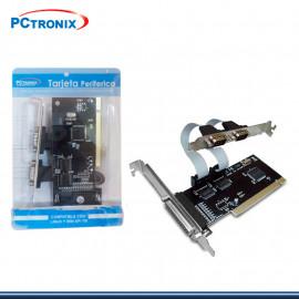 TARJETA PCI PUERTO PARALELO + 2 SERIAL P/N:4911 (G.PCTRONIX )