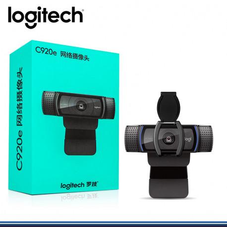 CAMARA LOGITECH C920E BUSINESS FULL HD C/TAPA NEGRA (PN 960-001360)