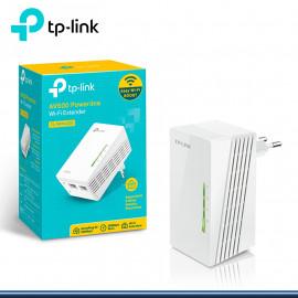 ADAPTADOR POWER LINE 300MBPS RANGE EXTENDER WI-FI TL-WPA4220 (G.TP LINK)