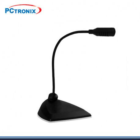 MICROFONO PCTRONIX DE PEDESTAL PCM100 ENTRADA USB