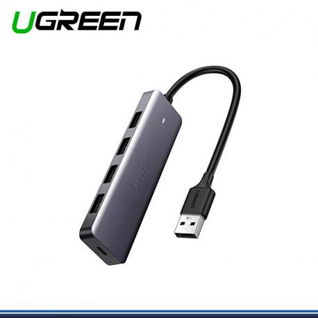 HUB USB UGREEN DE 4 PUERTOS 3.0 A USB COD. 50985