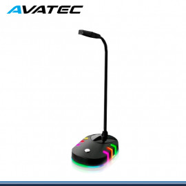MICROFONO DE PEDESTAL AVATEC CMP-1001B SALIDA USB LUCES RGB