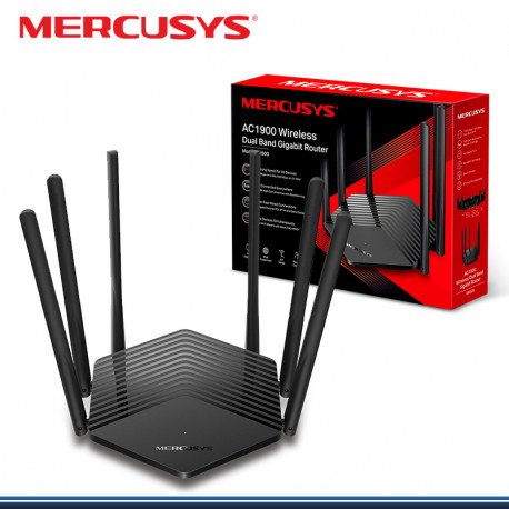 ROUTER MERCUSYS AC1900 DUAL BAND WIRELESS MR50G (G. TP LINK )