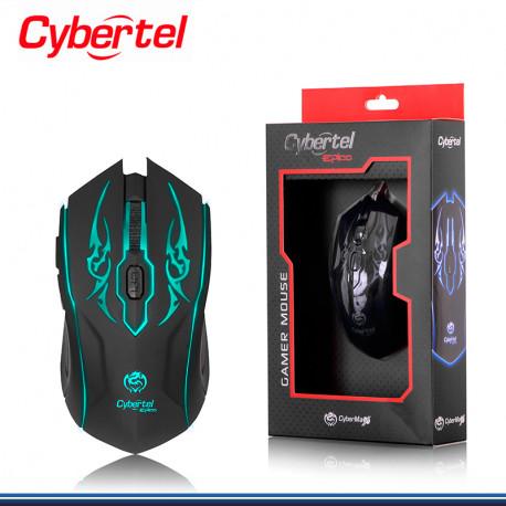 MOUSE CYBERTEL EPICO BLACK GAMER CYB-M505 USB
