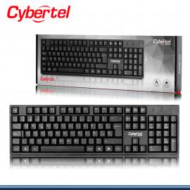 TECLADO CYBERTEL ROCKER + CYB K100+ STANDAR USB