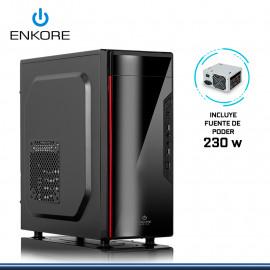 CASE ENKORE NOVA ENC 1057 CON FUENTE 230W USB 2.0
