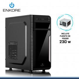 CASE ENKORE APEX ENC 1055 CON FUENTE 230W USB 2.0