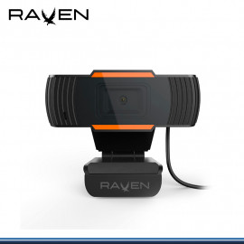 WEBCAM RAVEN H20 HD 1280x720 CON MICROFONO USB