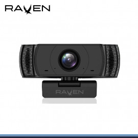 WEBCAM RAVEN F80 FHD 1920x1080 CON MICROFONO USB