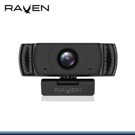 CAMARA RAVEN F80 1920 * 1080 FULL HD C/ MICRO 30FPS USB 2.0 WIN 10,8,8.1,7, MAX 10X