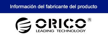 HUB ORICO TWU3-7A USB 3.0 DE 7 PUERTOS NEGRO
